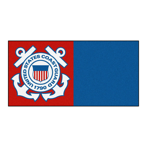 Coast Guard Licensed Carpet Tiles 18x18 - FANMATS - Dropship Direct Wholesale