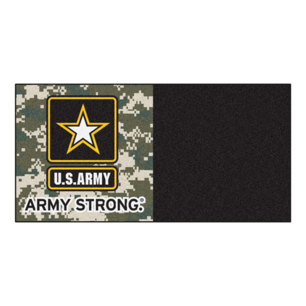 Army Licensed Carpet Tiles 18x18 - FANMATS - Dropship Direct Wholesale