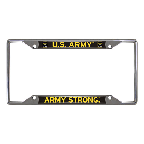 Army Licensed License Plate Frame 6.25x12.25 - FANMATS - Dropship Direct Wholesale
