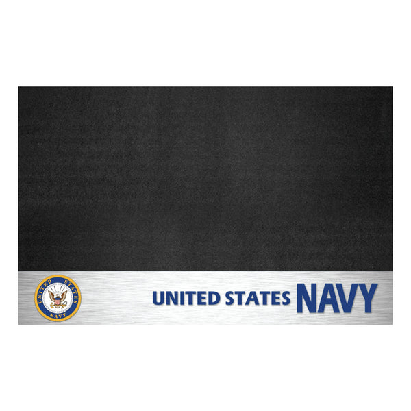 Navy Licensed Grill Mat 26x42 - FANMATS - Dropship Direct Wholesale