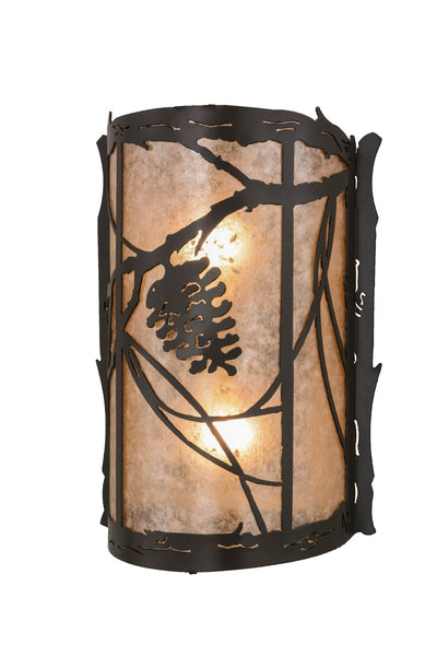 10 Inch W Whispering Pines Wall Sconce - Meyda - Dropship Direct Wholesale