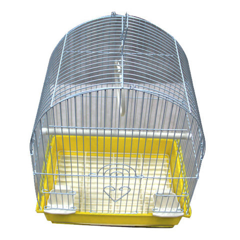 Iconic Pet Dome Top Bird Cage - Small - Yellow - Iconic Pet - Dropship Direct Wholesale