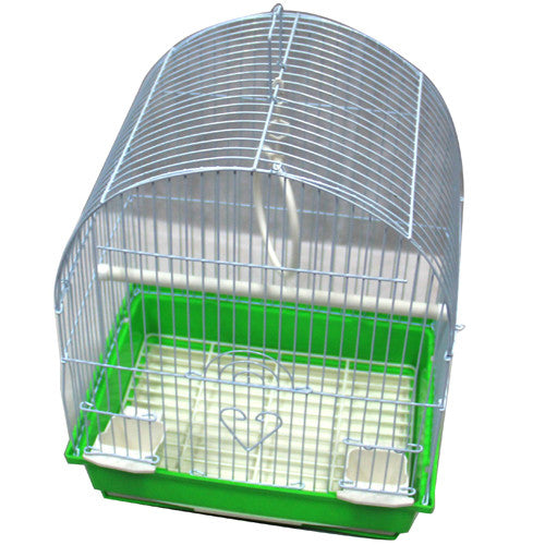 Iconic Pet Dome Top Bird Cage - Small - Green - Iconic Pet - Dropship Direct Wholesale