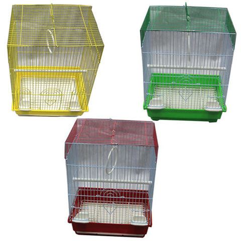 Iconic Pet - Flat Top Bird Cage (Set of 6) - Small - Iconic Pet - Dropship Direct Wholesale
