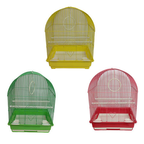 Iconic Pet Dome Top Bird Cage (Set of 6) - Medium - Iconic Pet - Dropship Direct Wholesale
