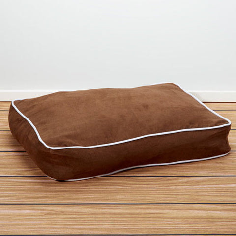 Iconic Pet - Luxury Buster Pet Bed - Cocoa - Large - Iconic Pet - Dropship Direct Wholesale
