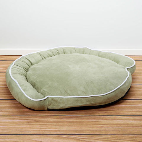 Iconic Pet - Luxury Bolster Pet Bed - Moss - Large - Iconic Pet - Dropship Direct Wholesale