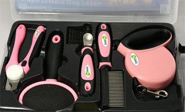 Iconic Pet Pet Grooming Set (5pcs) - Pink - Iconic Pet - Dropship Direct Wholesale