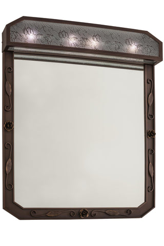 30 Inch W Arabesque Lighted Vanity Mirror - Meyda - Dropship Direct Wholesale