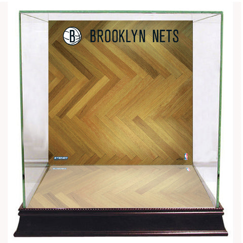 Brooklyn Nets Basketball Court Background Case - Steiner Sports - Dropship Direct Wholesale