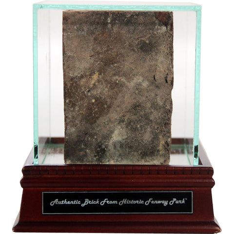 Authentic Piece of Fenway Park Brick with Single Glass Case and Nameplate - Steiner Sports - Dropship Direct Wholesale