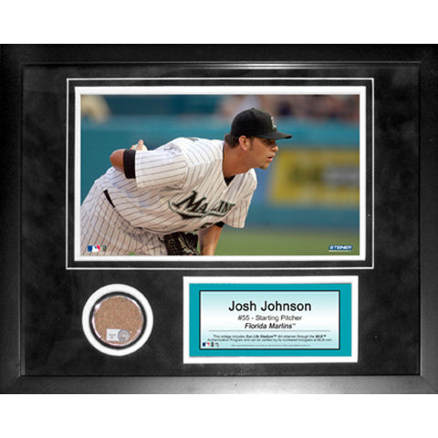 Josh Johnson 11x14 Mini Dirt Collage - Steiner Sports - Dropship Direct Wholesale