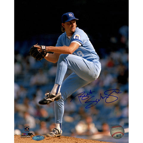 Bret Saberhagen Signed Pitching 8x10 Vertical Photo - Steiner Sports - Dropship Direct Wholesale