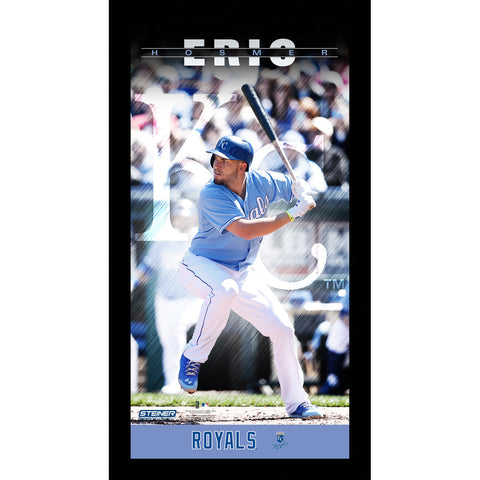 Eric Hosmer Kansas City Royals Player Profile Wall Art 9.5x19 Framed Photo - Steiner Sports - Dropship Direct Wholesale