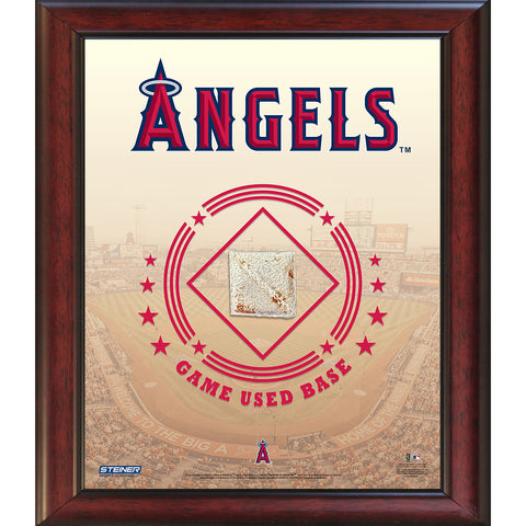 Los Angeles Angels Game Used Base 11x14 Stadium Collage - Steiner Sports - Dropship Direct Wholesale