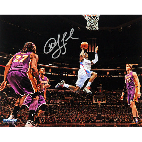 Chris Paul Los Angeles Clippers Layup Against Lakers Wide Angle Signed 8x10 Photo - Steiner Sports - Dropship Direct Wholesale