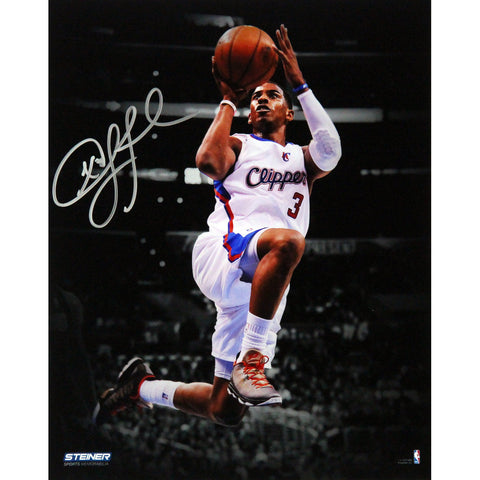 Chris Paul Los Angeles Clippers Layup Against Los Angeles Lakers Signed Vertical 8x10 Photo - Steiner Sports - Dropship Direct Wholesale
