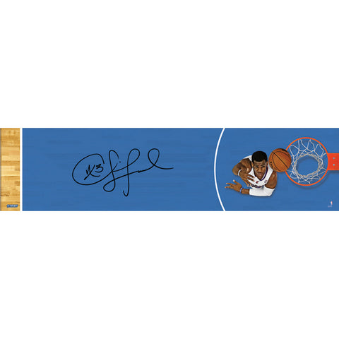 Chris Paul Los Angeles Clippers Layup Top View Signed 12x48 Panoramic Photo - Steiner Sports - Dropship Direct Wholesale