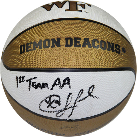 Chris Paul Signed Wake Forest Rubber Full Size Basketball w 1st Team AA Insc. - Steiner Sports - Dropship Direct Wholesale