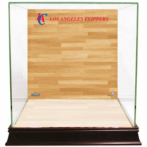 Los Angeles Clippers Basketball Court Background Case - Steiner Sports - Dropship Direct Wholesale