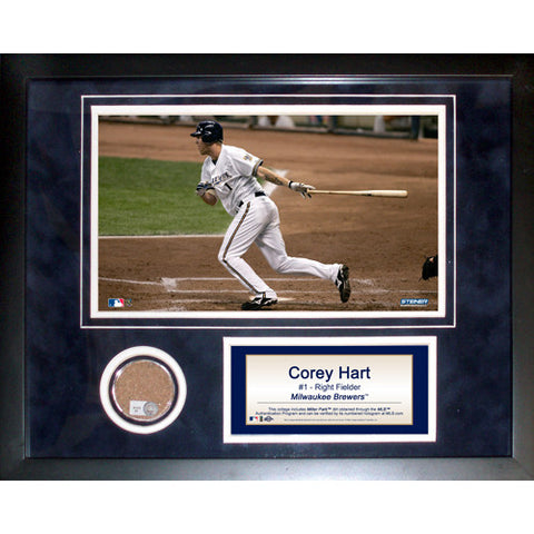 Corey Hart 11x14 Mini Dirt Collage - Steiner Sports - Dropship Direct Wholesale