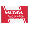 Boss 302 Starter Rug 19x30 - Red - FANMATS - Dropship Direct Wholesale - 1