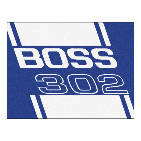 Boss 302 All-Star Mat 33.75x42.5 - Blue - FANMATS - Dropship Direct Wholesale - 1