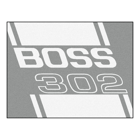 Boss 302 All-Star Mat 33.75x42.5 - Gray - FANMATS - Dropship Direct Wholesale - 1