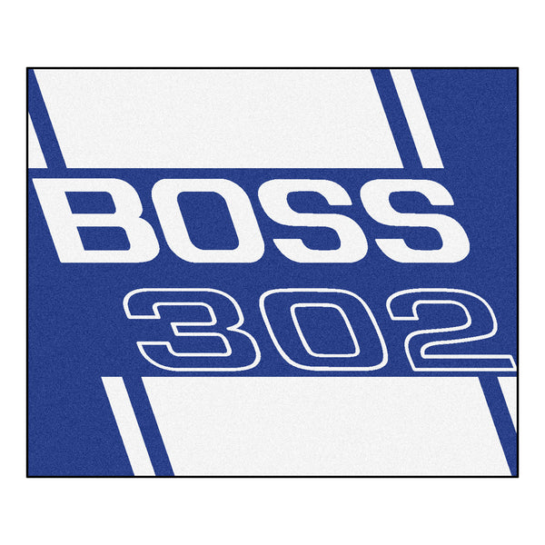 Boss 302 Tailgater Rug 5x6 - Blue - FANMATS - Dropship Direct Wholesale - 1