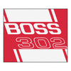 Boss 302 Tailgater Rug 5x6 - Red - FANMATS - Dropship Direct Wholesale - 1