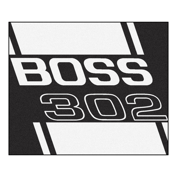 Boss 302 Tailgater Rug 5x6 - Black - FANMATS - Dropship Direct Wholesale - 1