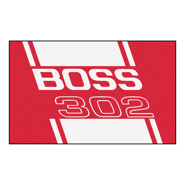Boss 302 Rug 4x6 - Red - FANMATS - Dropship Direct Wholesale - 1