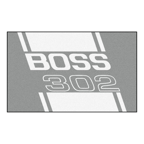 Boss 302 Rug 4x6 - Gray - FANMATS - Dropship Direct Wholesale - 1
