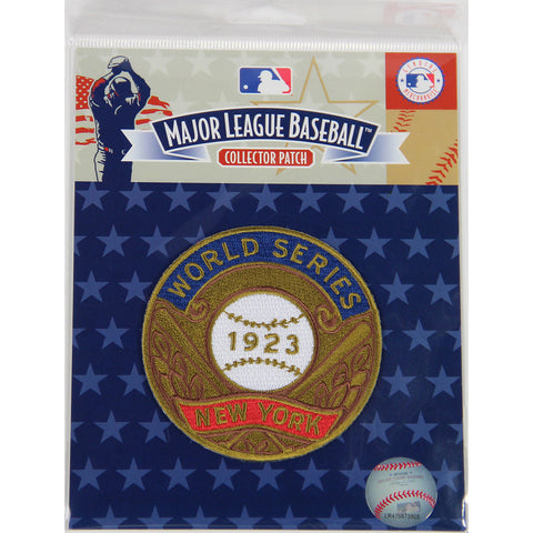 1923 World Series Patch-New York Yankees - Steiner Sports - Dropship Direct Wholesale