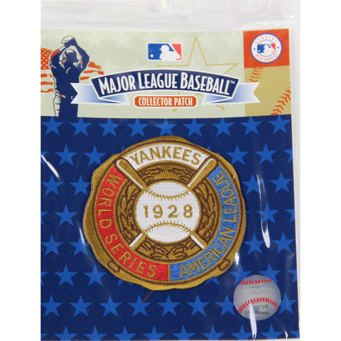 1928 World Series Patch-New York Yankees - Steiner Sports - Dropship Direct Wholesale