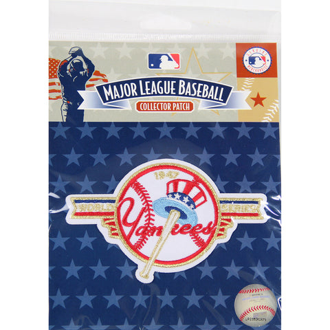 1947 World Series Patch-New York Yankees - Steiner Sports - Dropship Direct Wholesale