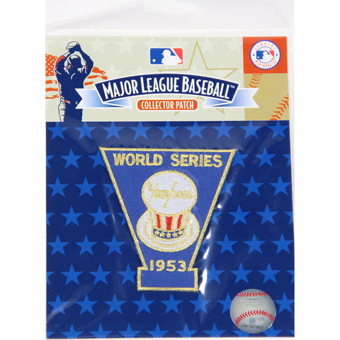1953 World Series Patch-New York Yankees - Steiner Sports - Dropship Direct Wholesale