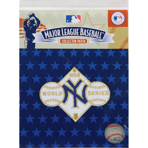 1958 World Series Patch-New York Yankees - Steiner Sports - Dropship Direct Wholesale