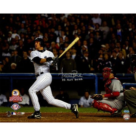 Aaron Boone Signed 2003 ALCS GW HR vs Red Sox Swing 16X20 Horizontal Photo w 03 GWHR ALCS - Steiner Sports - Dropship Direct Wholesale