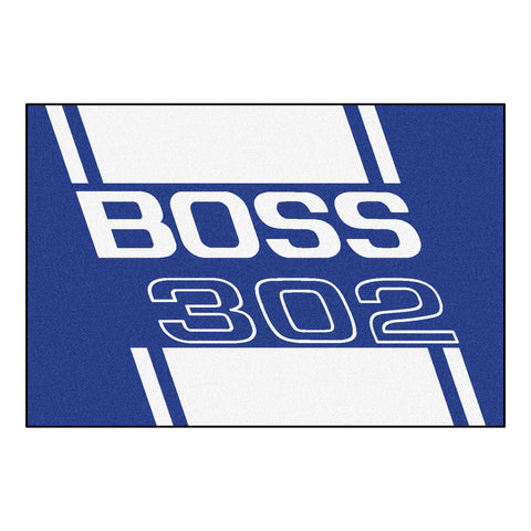 Boss 302 Rug 5x8 - Blue - FANMATS - Dropship Direct Wholesale - 1