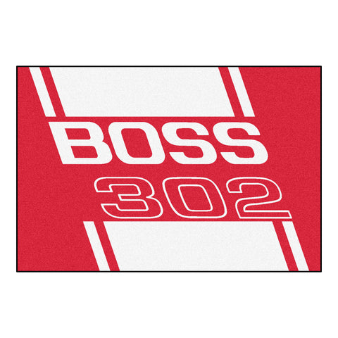 Boss 302 Rug 5x8 - Red - FANMATS - Dropship Direct Wholesale - 1