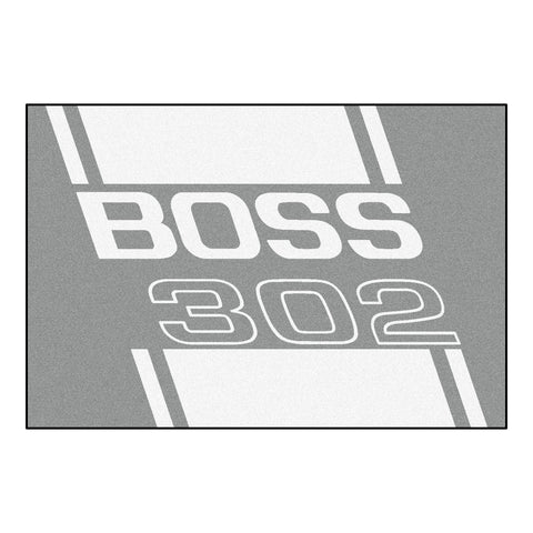 Boss 302 Rug 5x8 - Gray - FANMATS - Dropship Direct Wholesale - 1