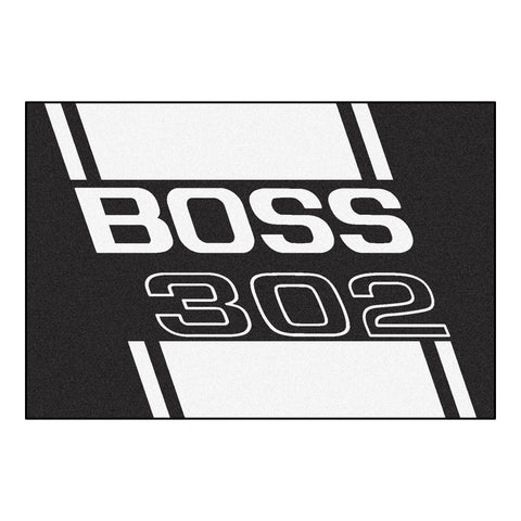 Boss 302 Rug 5x8 - Black - FANMATS - Dropship Direct Wholesale - 1