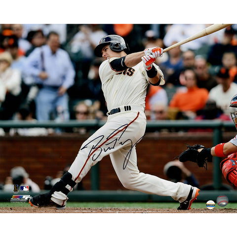 Buster Posey Signed San Francisco Giants Horizontal Swinging 16x20 Photo (LOJO Auth) - Steiner Sports - Dropship Direct Wholesale