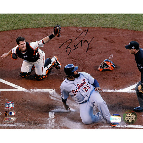 Buster Posey Signed San Francisco Giants Tagging Out Prince Fielder 8x10 Photo (LOJO Auth) - Steiner Sports - Dropship Direct Wholesale