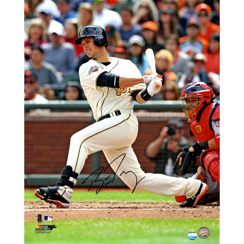 Buster Posey Signed San Francisco Giants Vertical Swinging 16x20 Photo (LOJO Auth) - Steiner Sports - Dropship Direct Wholesale