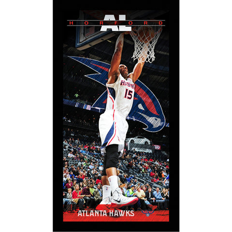 Al Horford Atlanta Hawks Player Profile Wall Art 9.5x19 Framed Photo - Steiner Sports - Dropship Direct Wholesale
