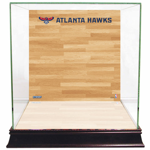 Atlanta Hawks Basketball Court Background Case - Steiner Sports - Dropship Direct Wholesale