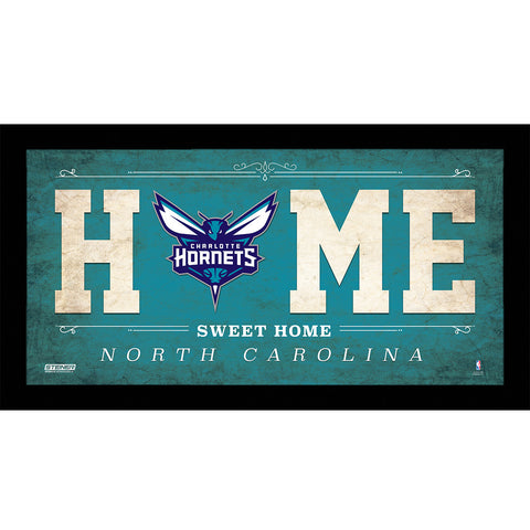 Charlotte Hornets 6x12 Home Sweet Home Sign - Steiner Sports - Dropship Direct Wholesale