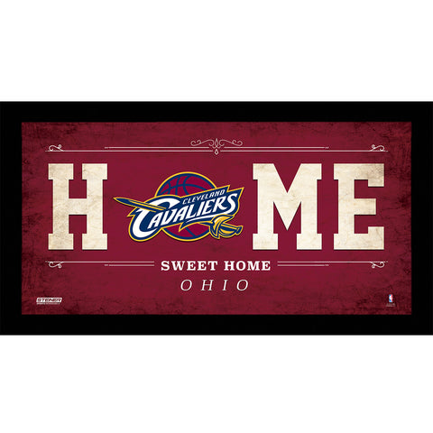 Cleveland Cavaliers 6x12 Home Sweet Home Sign - Steiner Sports - Dropship Direct Wholesale
